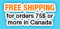 Free Shipping Canada